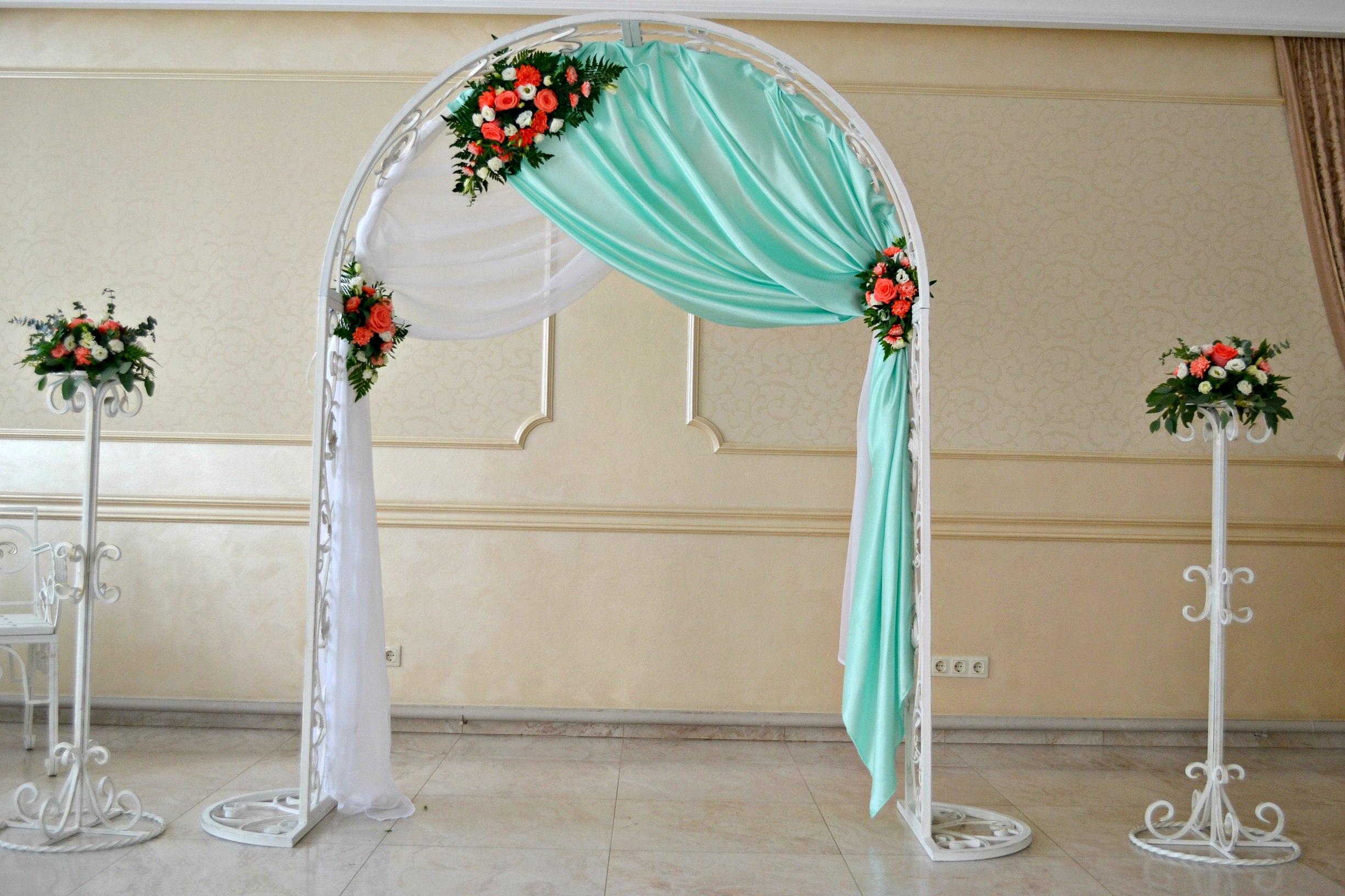 Как сделать арку на свадьбу своими руками дешево и красиво 93